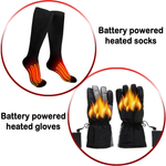 Combo Heated Socks & Heated Gloves