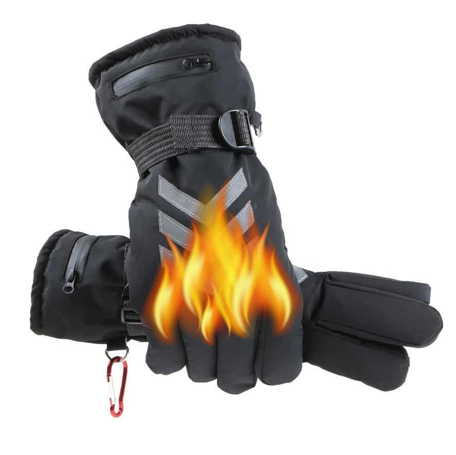 Heated Gloves - Rechargeable Battery Included - Stay Warm During Cold Days