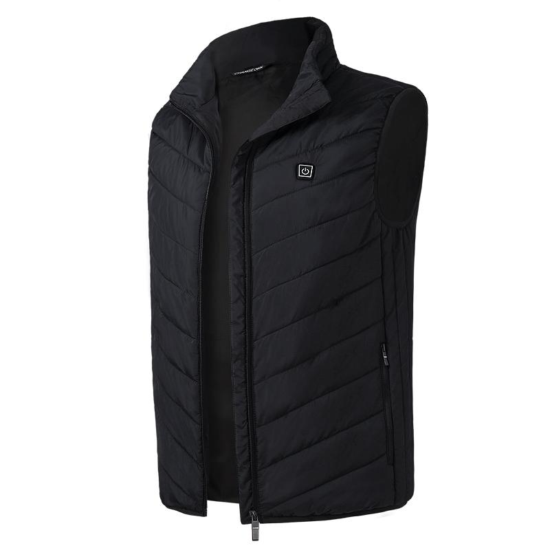High Neck USB Heated Vest - Waterproof and Lightweight