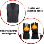 Combo Heated Vest & Heated Gloves