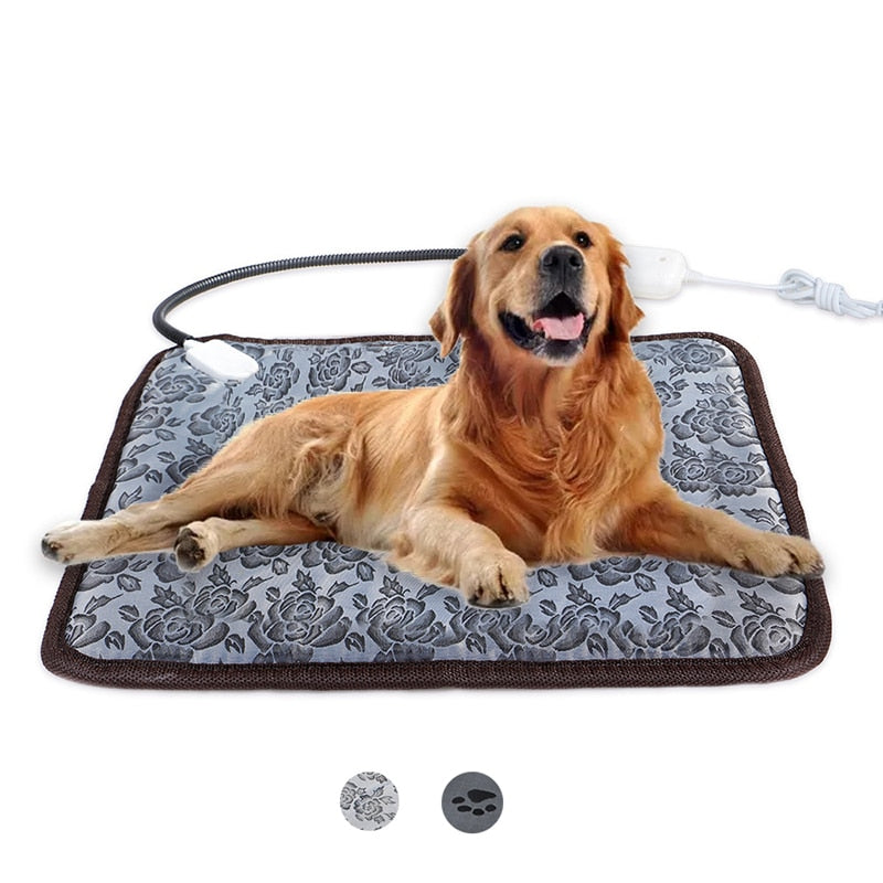 Adjustable Heating Pad For Pets - Bite Resistant Wire