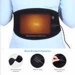 Electric Heating Waist Belt - Low Back/Abdomen Pain Relief