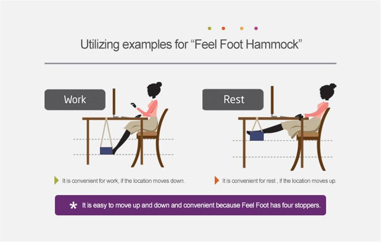 Desk Feet Hammock - Relax While You Work