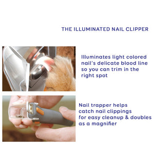 Illuminated Pet Nail Trimmer - Painless and Professional