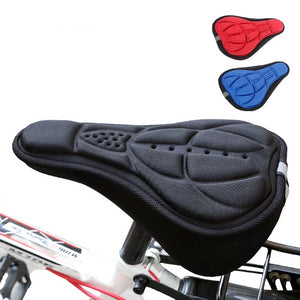 Bike Seat Cushion Cover Pad with Memory Foam
