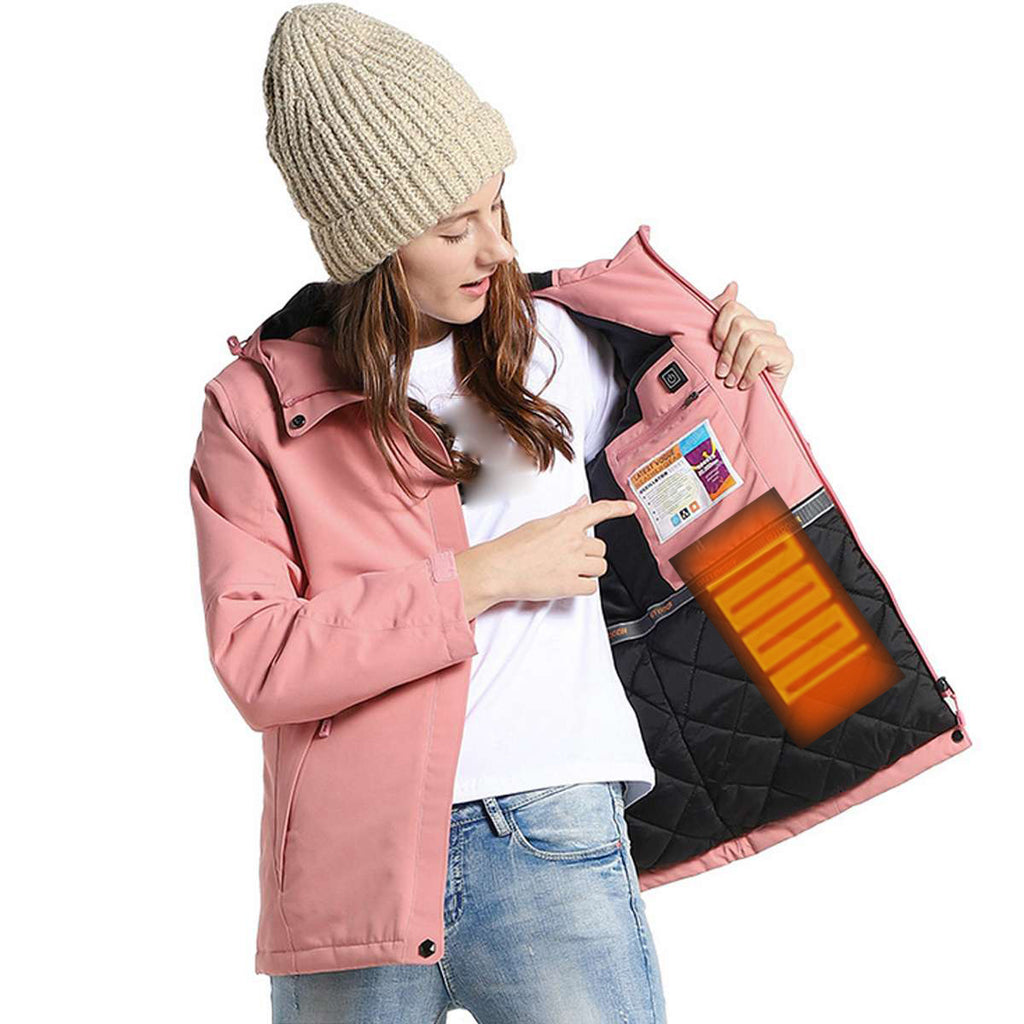 Women's Waterproof USB Heated Jacket