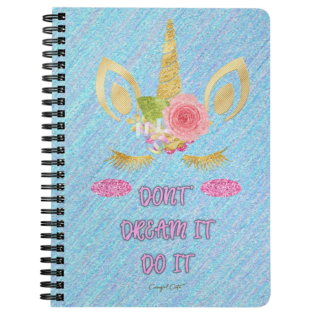Spiral Notebook - Don't Dream It Do It [store_name}