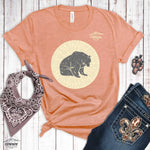 Moon Bear Heather Tee