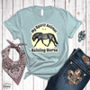 Reining Horse Spirit Animal Heather Tee