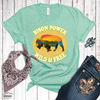 Bison Power Heather Tee