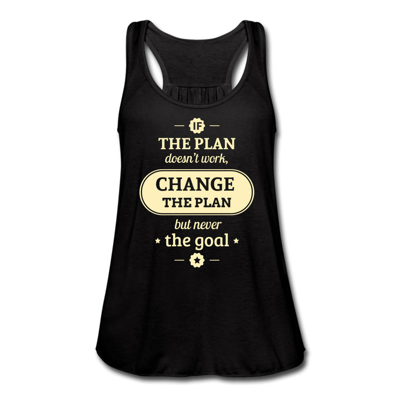 Stick to Your Goal Women's Flowy Tank Top [store_name}