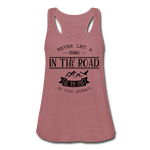 Just a Stumble Women's Flowy Tank Top [store_name}