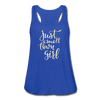 Small Town Girl Women's Flowy Tank Top [store_name}