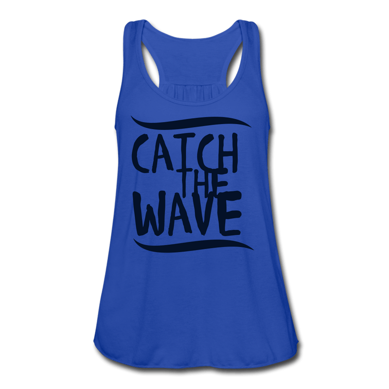 Catch the Wave Women's Flowy Tank Top [store_name}