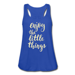 Enjoy the Little Things Women's Flowy Tank Top [store_name}
