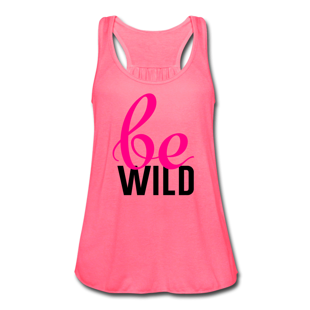 Be Wild Women's Flowy Tank Top [store_name}