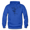 Joyful Graphic Cowboy Casuals Hoodie - royal blue