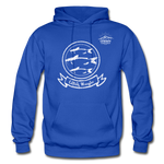 Catfish Wrangler Cowboy Casuals Hoodie - royal blue