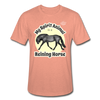 Reining Horse Spirit Animal Heather Tee - heather prism sunset
