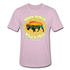 Bison Power Heather Tee - heather prism lilac