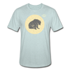 Moon Bear Heather Tee - heather prism ice blue