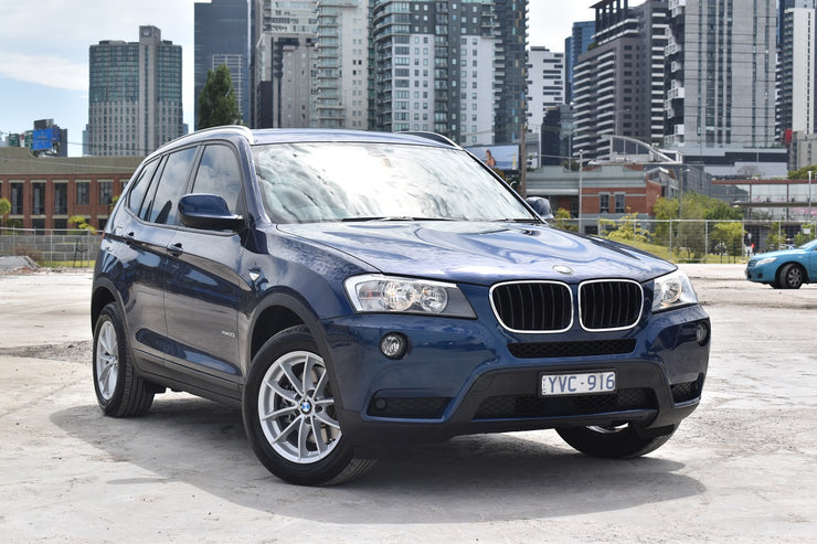 2012 BMW X3 F25 xDrive20i Wagon 5dr Steptronic 8sp 4x4 2.0T [MY12]  1172U | YVC916