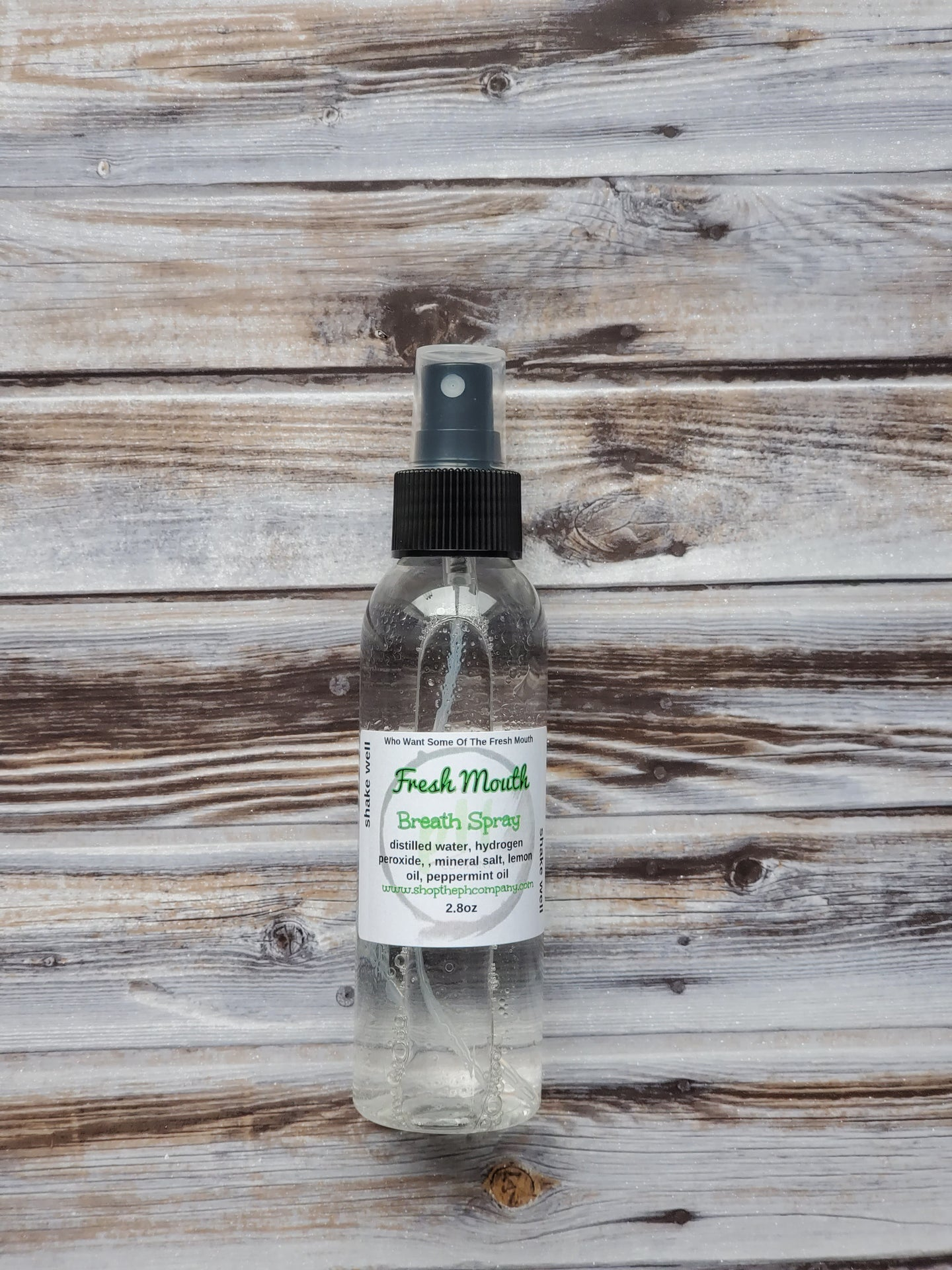 Fresh Mouth Breath Spray