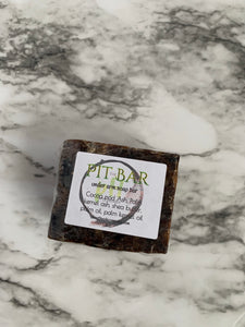 pH Balancing Pit Bar - Arm Pit Soap Infused with jojoba oil