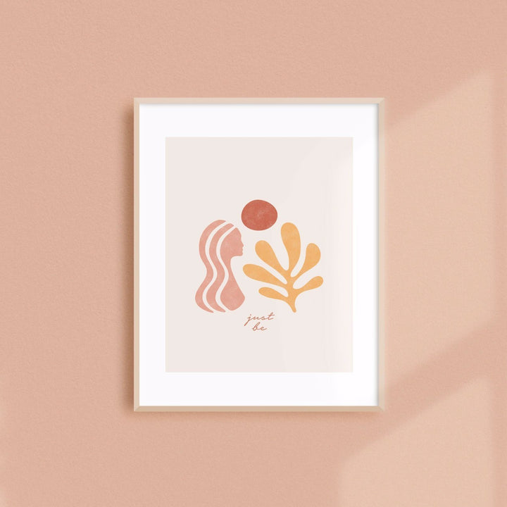 Just Be | Art Print