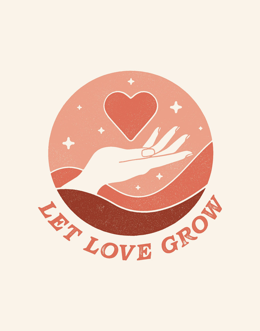 Let Love Grow | Art Print
