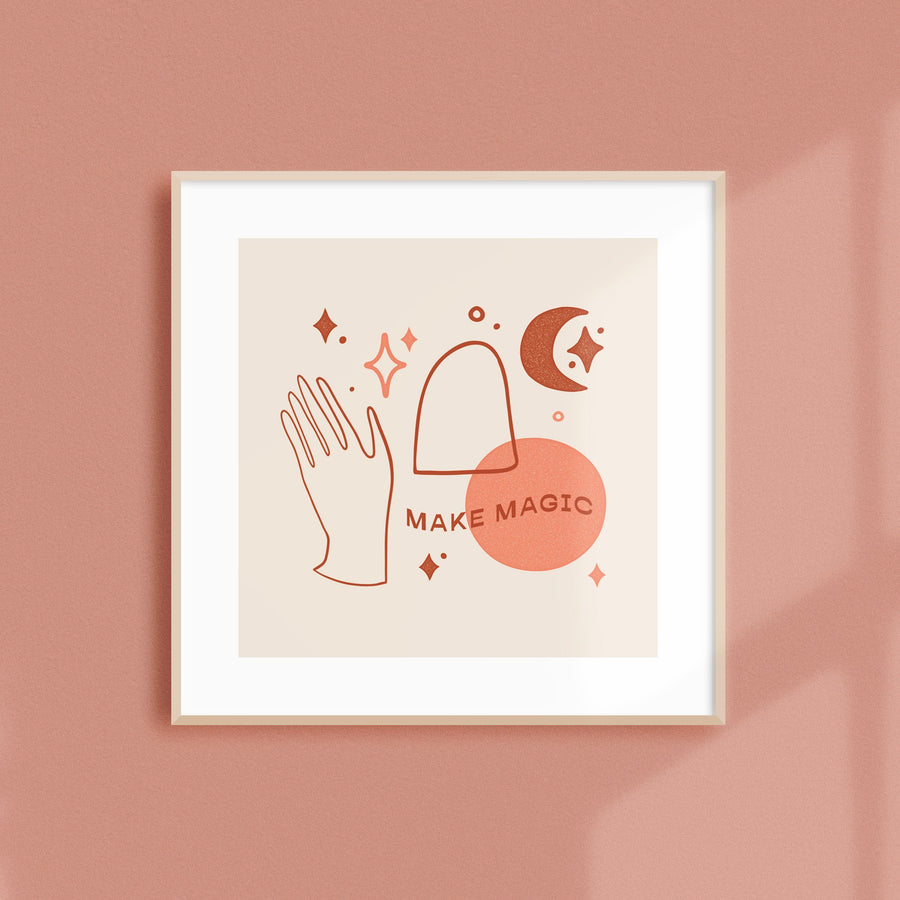 Make Magic Art Print