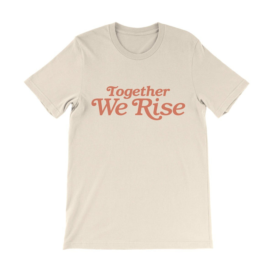 Valiant Daughter Collective feminist vintage t shirt together we rise