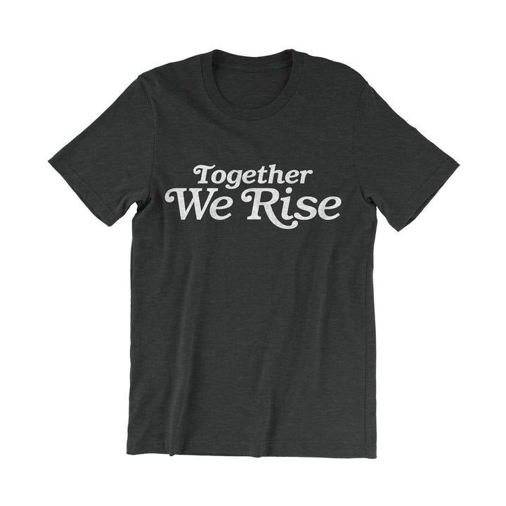 Valiant Daughter Collective feminist vintage t shirt together we rise black