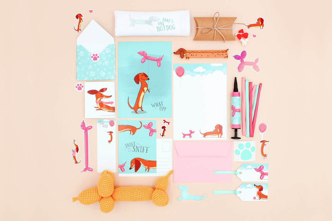 March 2021 - The Waddle Box - Dachshund You Like It? Edition (CLOSED)
