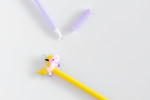 Unicorn Gel Pen (Black Ink)