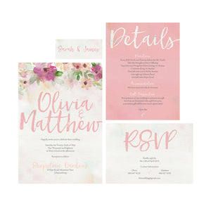 The Olivia Invitation