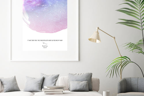 Star Map - Digital Printable