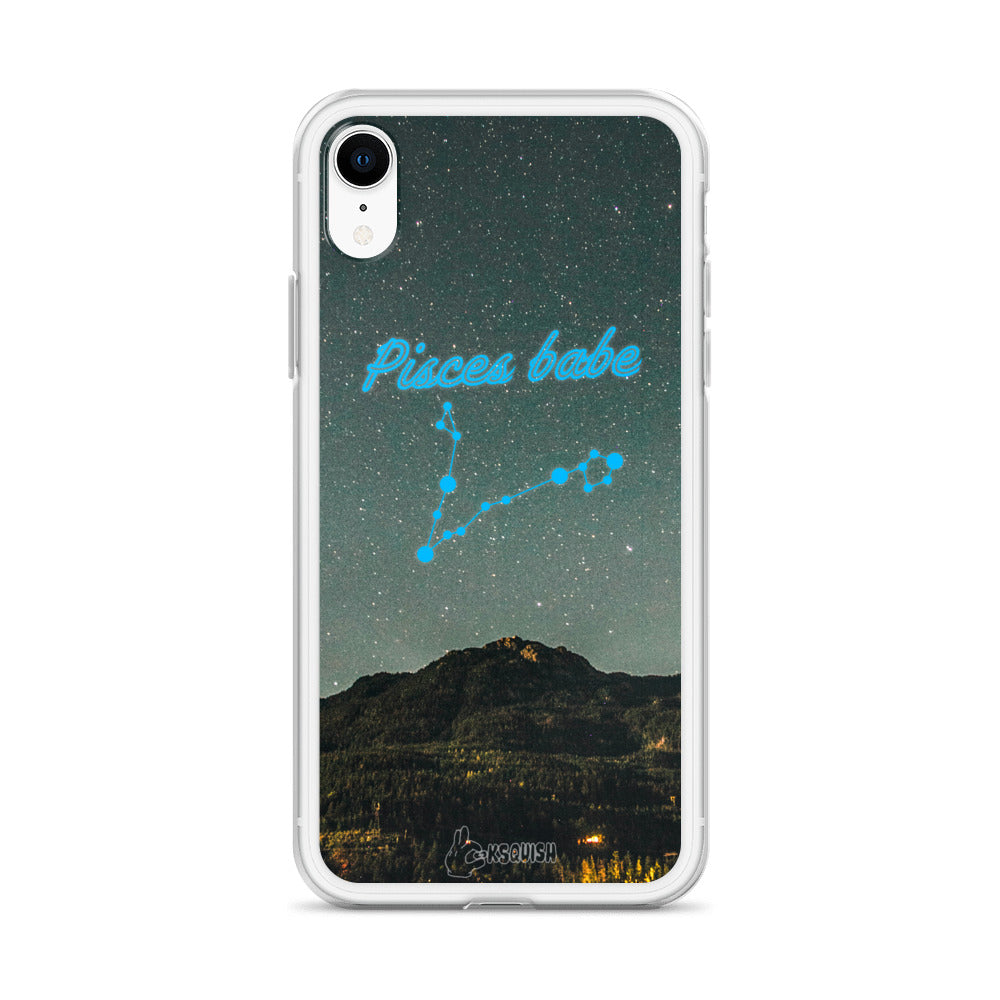 Pisces Babe iPhone Case