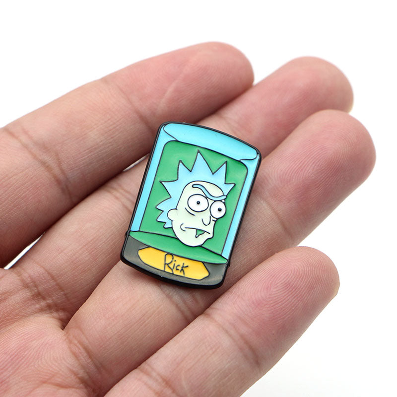 Rick And Moti Pin