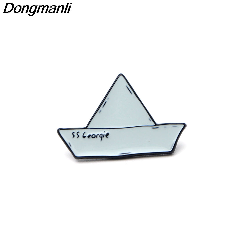 Paper Boat Pin