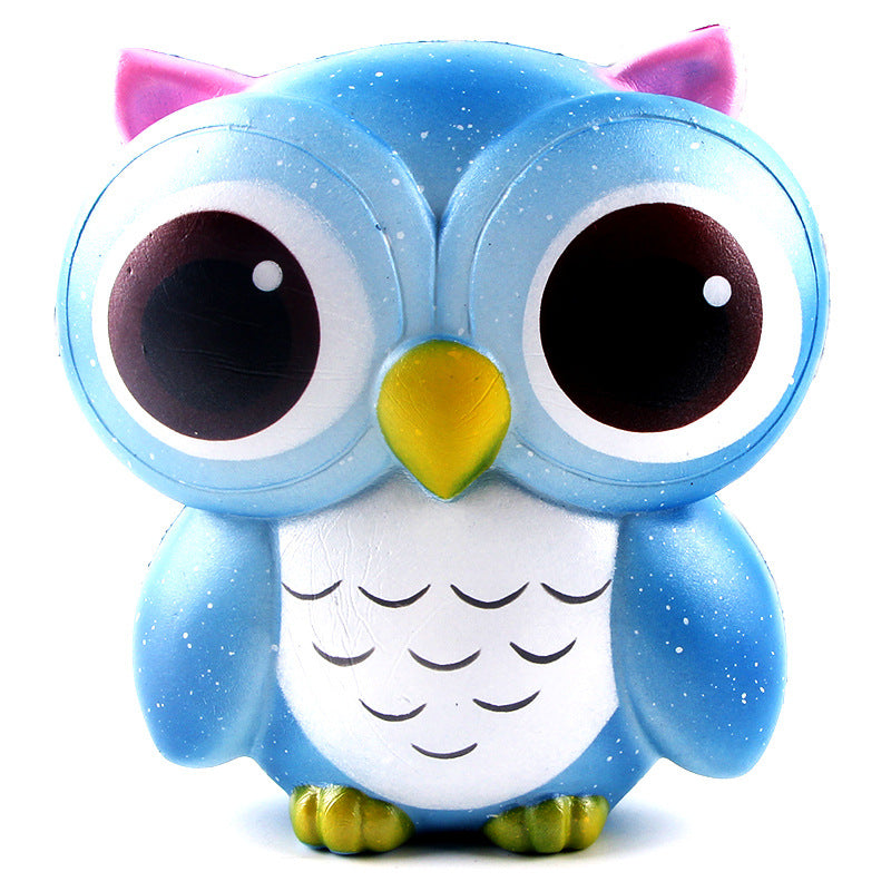 Galaxy Owl Squishy