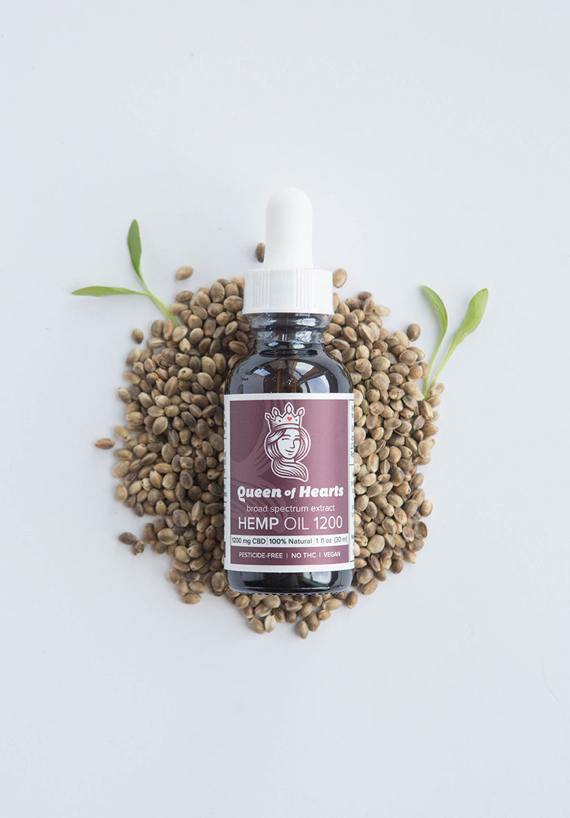 Hemp Oil 1200 Nutty Natural - for People & Pets