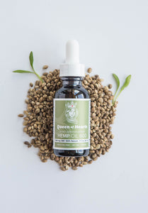 Hemp Oil 600 Nutty Natural - for People & Pets