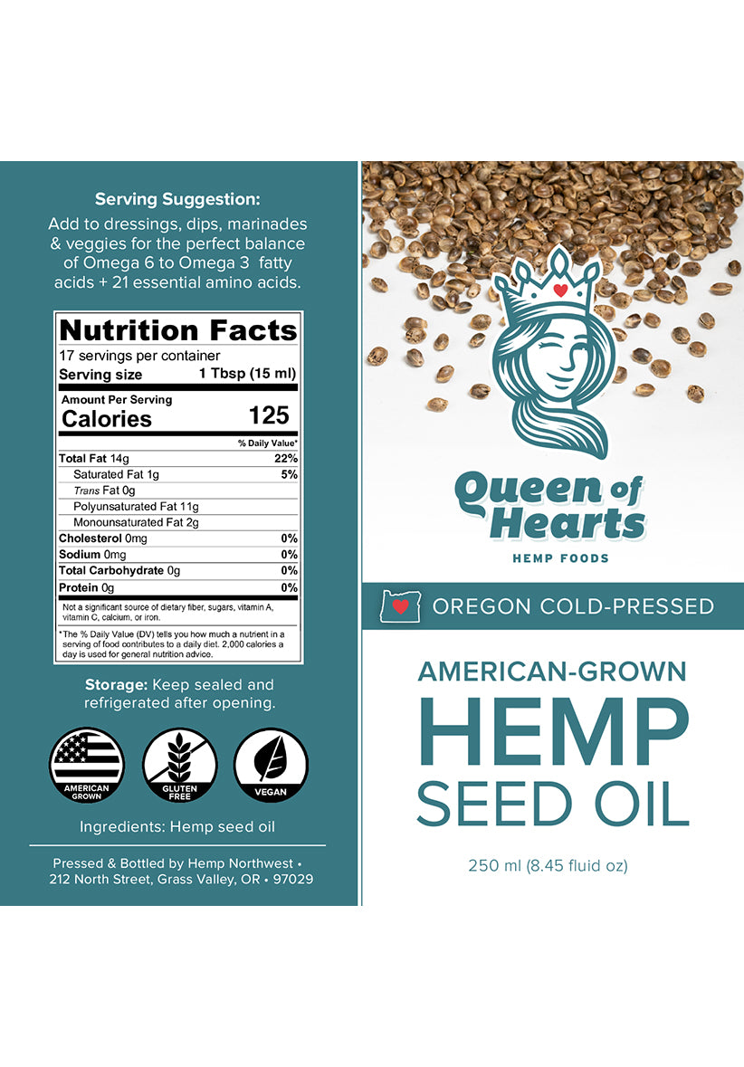 Hemp Seed Oil - 250 ml
