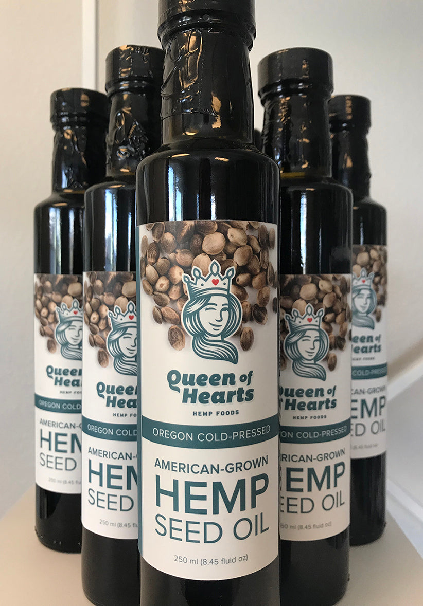 750 ml Hemp Seed Oil