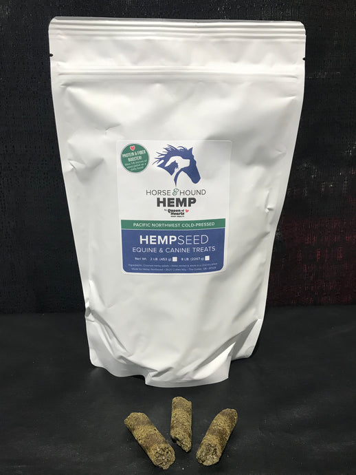 1 lb. Hemp Seed Treats - Dogs / Horses