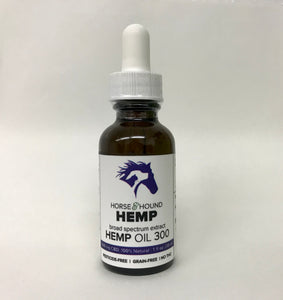 Horse & Hound Hemp Oil 300 for Dogs