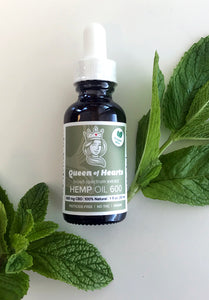 Hemp Oil 600 Oregon Mint