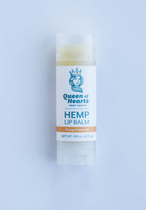Hemp Lip Balm - Orange Creamsicle