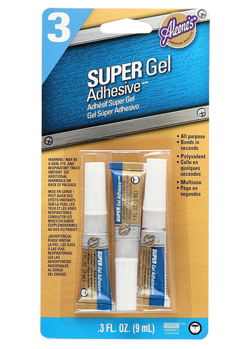 ALEENE'S MULTI SUPER GLUE 3 PACK